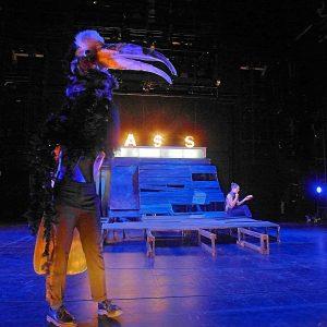 Kleist-Forum, Frankfurt / Foto: Carla Satoca Berges, Maske: Felix Loycke / Das Helmi